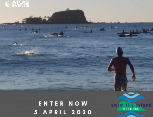 New Event for 2020. Swim the Island Mudjimba.