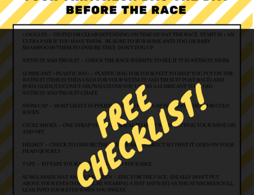 FREE TRI PACKING LIST!